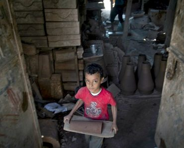 I Was One of the Working Children in Egypt