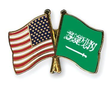 Christian American Expat in Saudi Arabia - American Flag and Saudi Arabian Flag