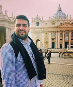Khairuldeen Mahkzoomi thrown off plane - in front of the Vatican