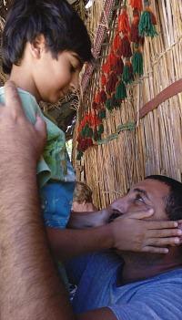 My son Nelio - Joseph and Nelio Nazir in Dahab, Egypt in August 2017