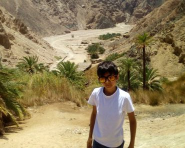 My son Nelio - Nelio in the Sinai