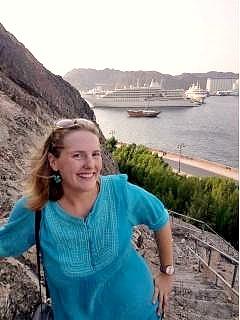 Brooke Templin, a female expat in Oman