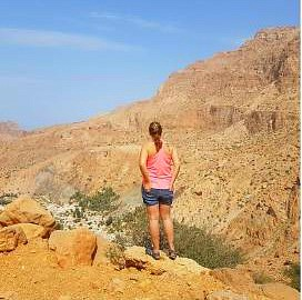 American female expat in Oman, Brooke Templin
