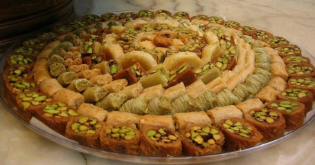 Sweets for Christmas in Egypt