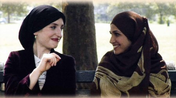 Cultures of Israel - a Jewish woman and a Muslim woman