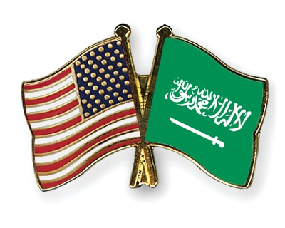 Christian American Expat In Saudi Arabia - American Flag And Saudi Arabian Flag