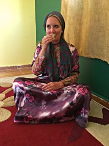 3 Months in Egypt, Jordan and Israel - Month 1.5 - Sabina Lohr as a Bedouin