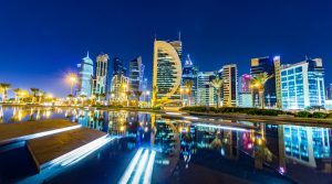 Doha Qatar Skyle - impressions of Qataris