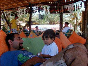 My son Nelio - Joseph and Nelio in Dahab in 2012