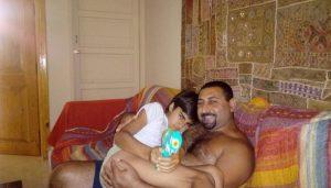 My son Nelio - Joseph and Nelio Nazir