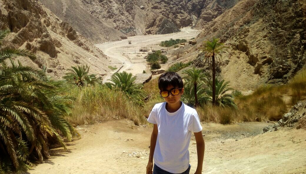 My Son Nelio - Nelio In The Sinai