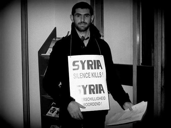 Protest in Syria - Yahia Hakoum