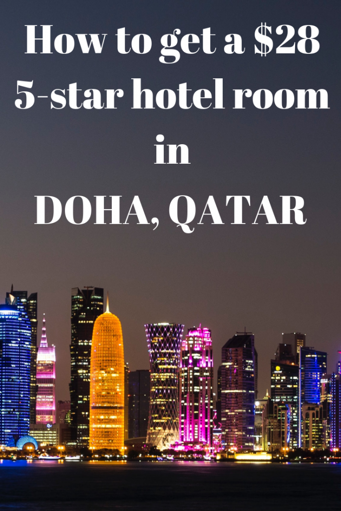 5-star hotel in Doha, Qatar for $28